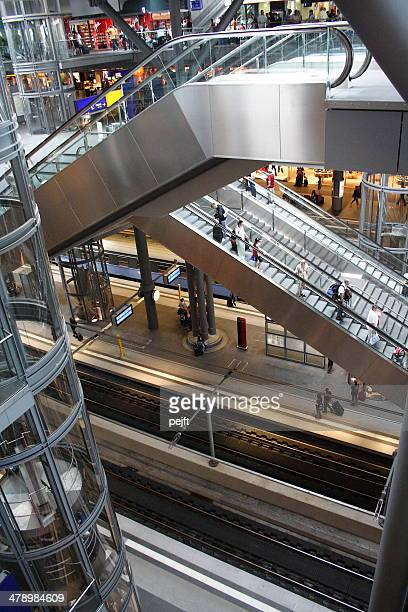 Berlin Hauptbahnhof modernen Central Station