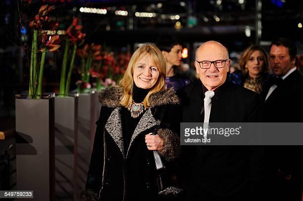 Berlin International Film Festival 2013 Volker Schloendorff and wife Angelika