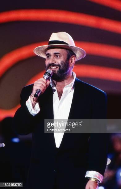 Berlin ist Musik, Eröffnungsshow auf der IFA in Berlin, Deutschland 1989, Stargast: Drafi Deutscher (.