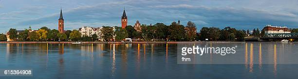 berlin köpenick - district of the german capital - panorama - köpenick stock pictures, royalty-free photos & images