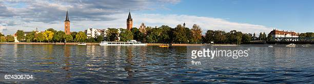 berlin köpenick old town - panorama (germany) - köpenick stock pictures, royalty-free photos & images