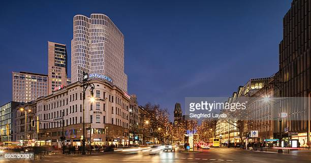 berlin kurfuerstendamm - kurfürstendamm stock pictures, royalty-free photos & images
