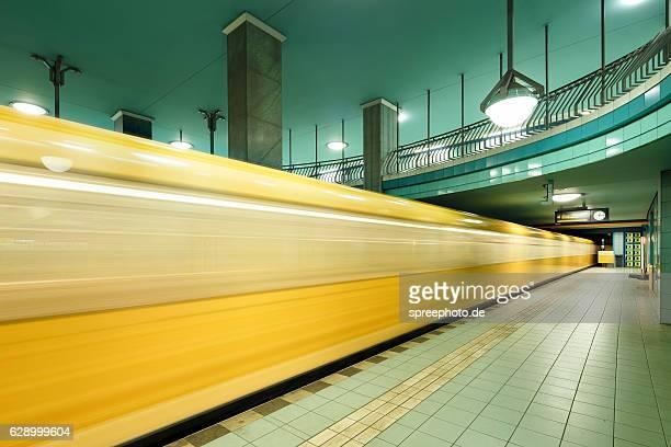 Berlin metro station Lindauer Allee