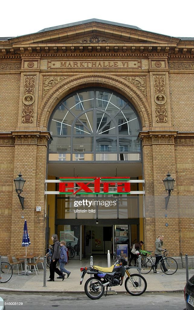 check out 36ad9 5b1d6 market hall Ackerhalle with 'extra' supermarket in the ...