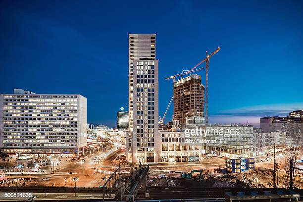 berlin new skyline city west - berlin zoo stock pictures, royalty-free photos & images