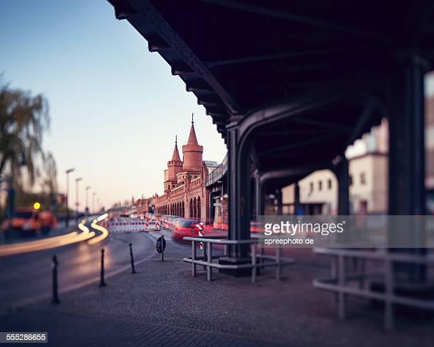 Berlin Oberbaum bridge, Kreuzberg