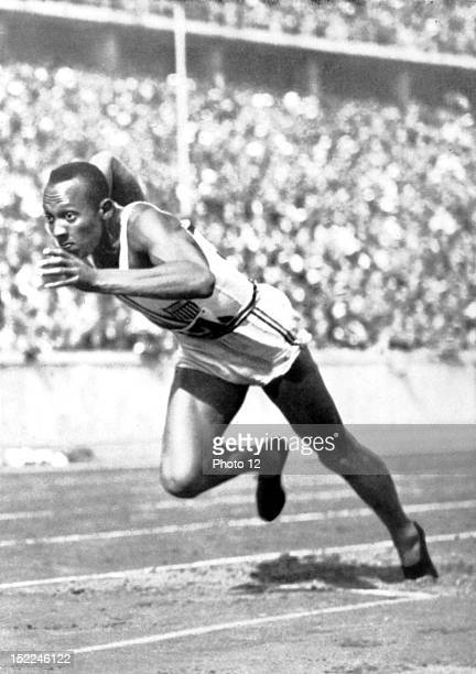 Berlin Olympic Games Jesse Owens the fastest runner in the world Germany Private collection