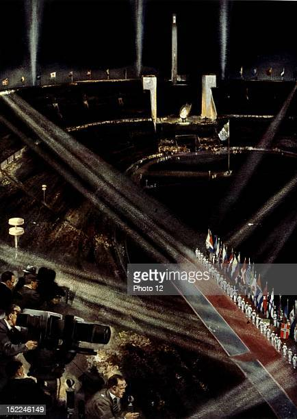 Berlin Olympic Games Show at the Olympic stadium Germany Private collection