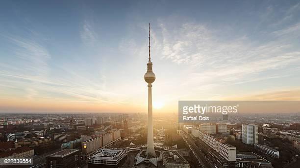 berlin - antenne stock-fotos und bilder