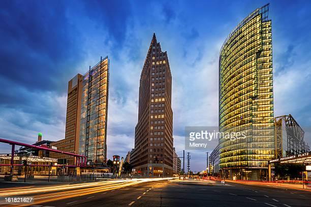 berlin potsdamer platz - sony center berlin stock pictures, royalty-free photos & images
