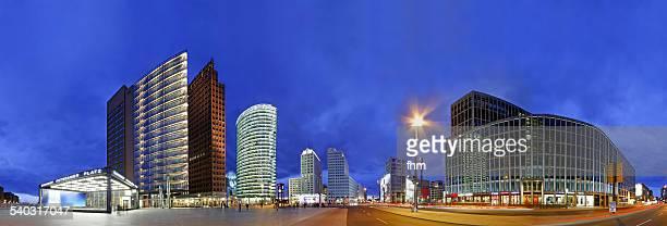 BErlin - Potsdamer Platz, Skyline Panorama