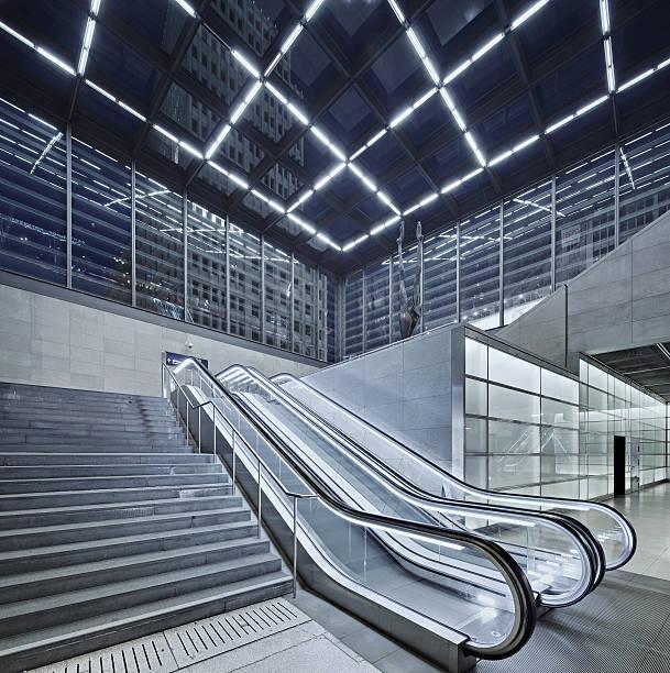 Berlin Potsdamer Platz With Escalator Wall Art