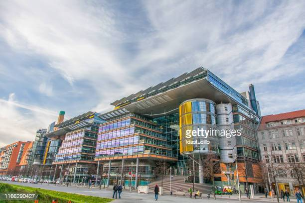 berlin - potsdammer platz - central berlin stock pictures, royalty-free photos & images