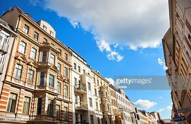 berlin - prenzlauer berg - borough district type stock pictures, royalty-free photos & images