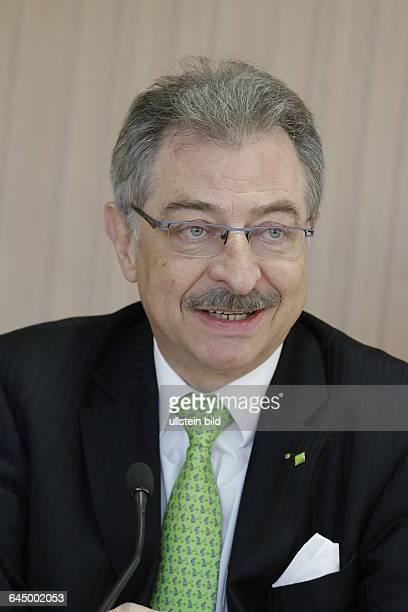 BITKOM V Thema Studie zu digitaler Wirtschaftsspionage und Sabotage Foto DATEVVorstandsvorsitzende Prof Dieter Kempf