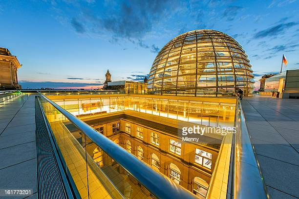 berlin, reichstag dome - bundestag stock photos and pictures