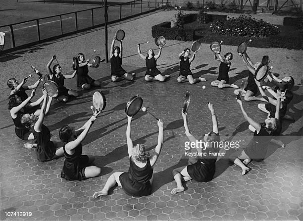 Berlin Rhythmic Gymnastics Training With Drums