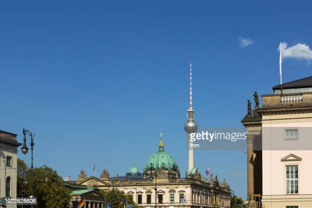 Berlin skyline - Television Tower with the 'Zeughaus' (Berlin, Germany)