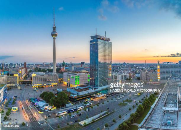 Berlin Skyline with Fernsehturm in the center