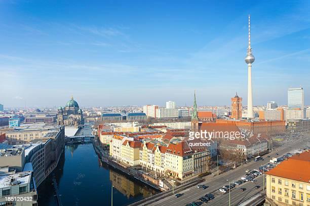 Berlin - Skyline with TV Tower