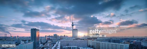 Berlin Skyline with TV Tower