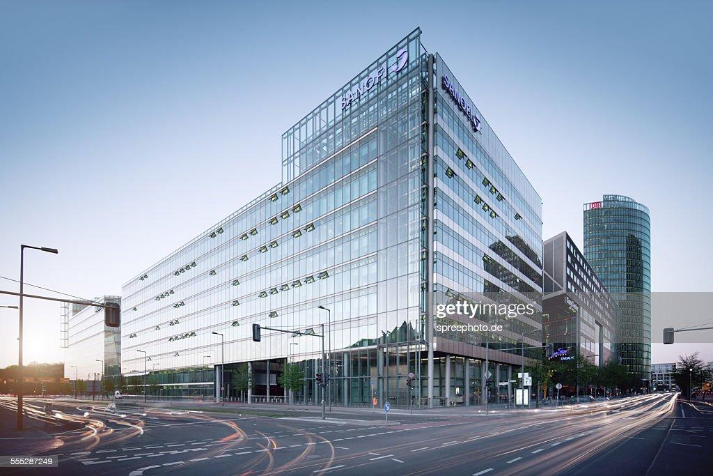Berlin Sony center Potsdamer Platz : Stock-Foto