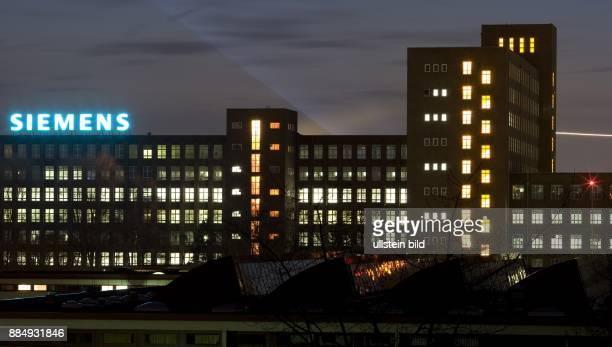 Siemens Gebaeude in Siemensstadt