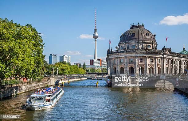 Berlin Spree River and Museum Island