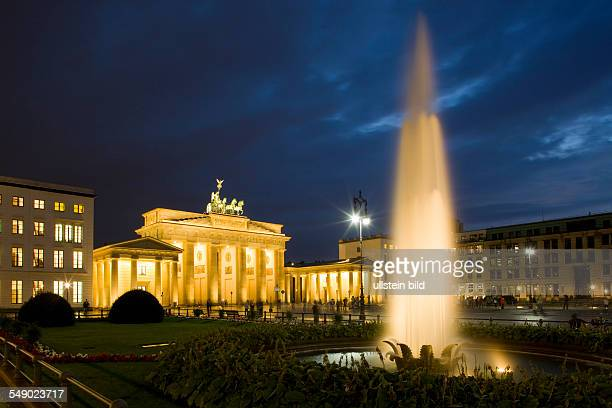 summer evening at Brandenburg Gate