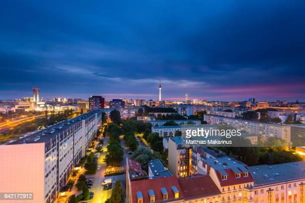 Berlin Summer Night Skyline