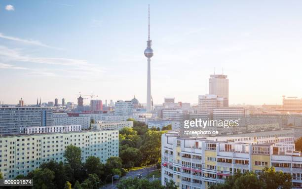 Berlin Summer Skyline with TV Tower