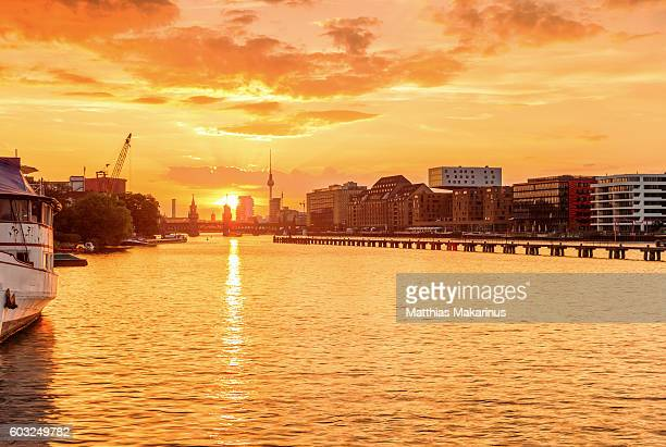 Berlin Summer Sunset Skyline
