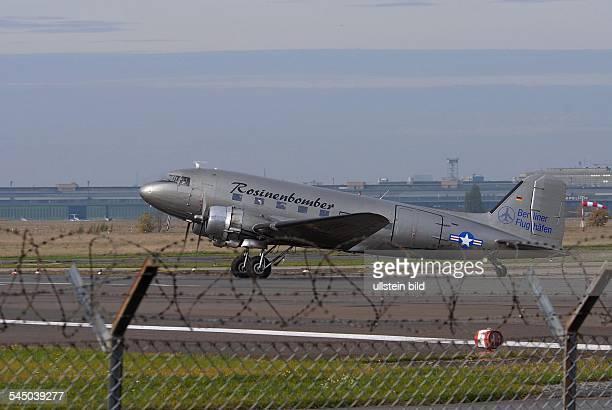 DC-3 ROSINENBOMBER LITHOGRAPHIERTE MINIATUR MIT SCHLAUFE ZUM AUFHÄNGEN