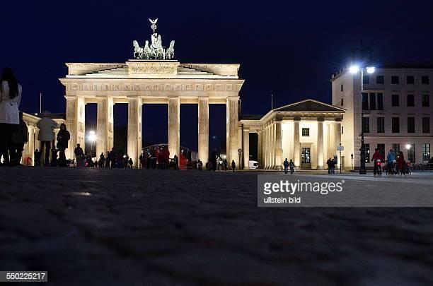 Berlin the Brandenburger Gate at night