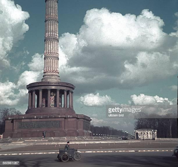 Berlin Tiergarten Grosser Stern with Victory Column 1942
