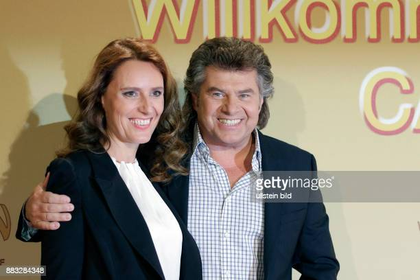 Berlin Velodrom ZDF Sendung Willkommen bei Carmen_Nebel FotoAndy Borg mit Ehefrau Birgit