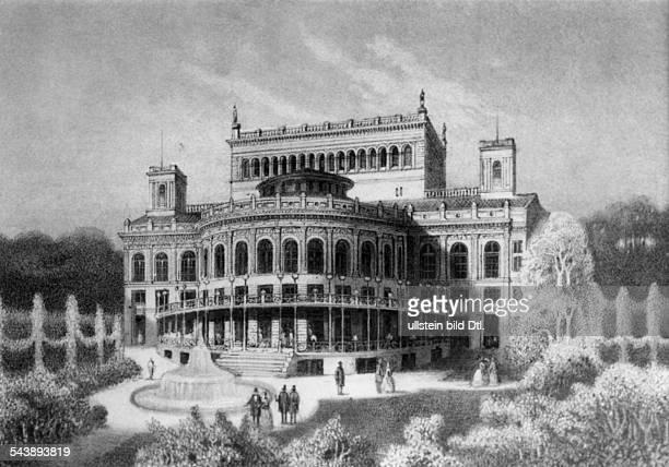 Berlin; Victoria thatre at Muenzstrasse - 1859