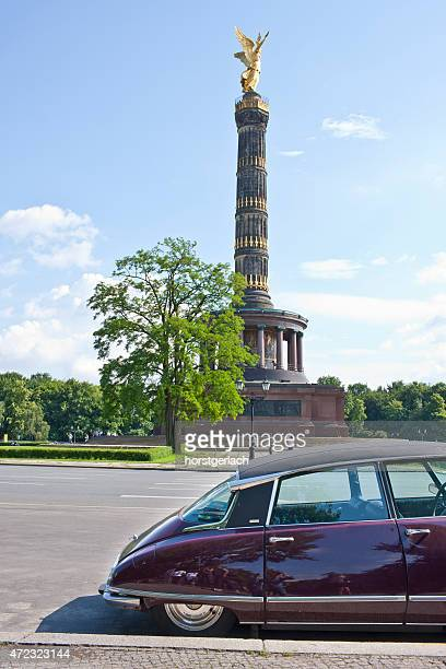 berlin victory column, germany - citroën ds stock photos and pictures