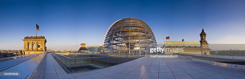 Ausblick auf Berlin : Stock-Foto
