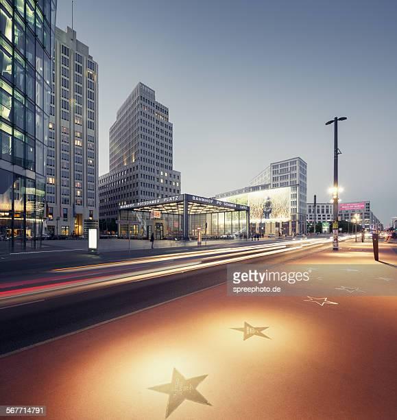 Berlin walk of fame, Potsdamer Platz