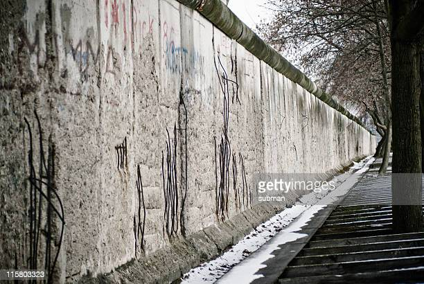 berlin wall - east berlin stock photos and pictures