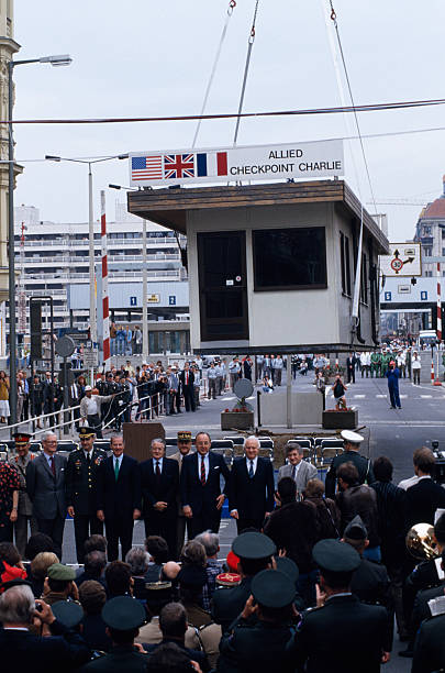 DEU: 22nd June 1990 - Checkpoint Charlie Is Removed