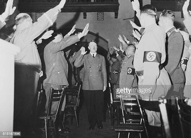 When Bombs Nearly Stopped Beer Hall Speech The smile on Adolf Hitler as he arrived for his annual speech in observance of the anniversary of his...