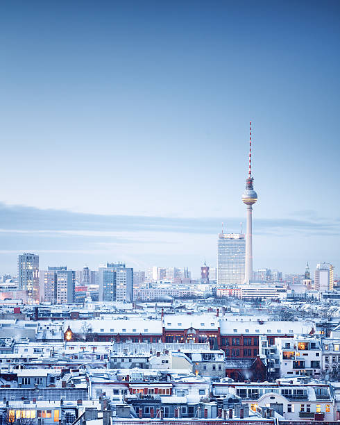 Berlin Winter Cityscape Wall Art