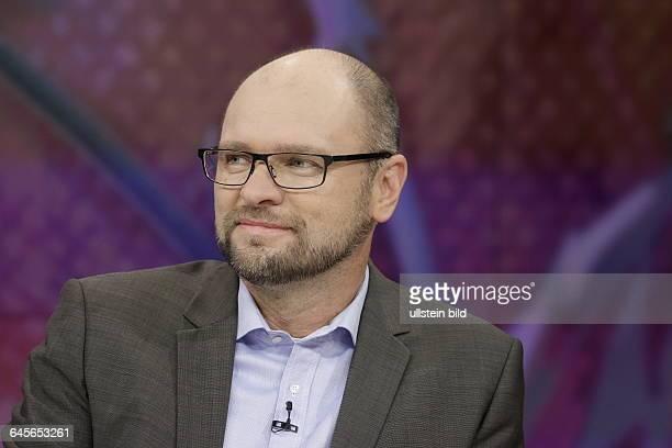 Berlin ZDF PolitTalk 'Maybrit_Illner' Thema Deutschland hilft Doch wer hilft uns helfen Foto Richard Sulík Mitglied des Europäischen Parlaments...