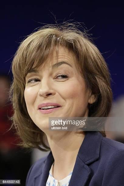 Berlin ZDF PolitTalk Maybrit_Illner Thema Fachkraft oder Flüchtling Wer darf ins Wirtschaftswunderland Foto Moderatorin Maybrit Illner
