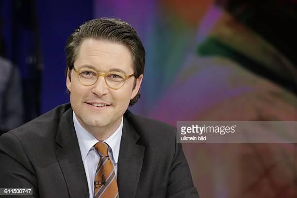Berlin ZDF PolitTalk Maybrit_Illner Thema Fachkraft oder Flüchtling Wer darf ins Wirtschaftswunderland Foto Andreas Scheuer Generalsekretär
