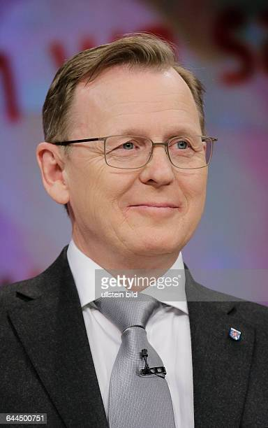 Berlin ZDF PolitTalk Maybrit_Illner Thema Fachkraft oder Flüchtling Wer darf ins Wirtschaftswunderland Foto Bodo Ramelow Ministerpräsident Thüringen