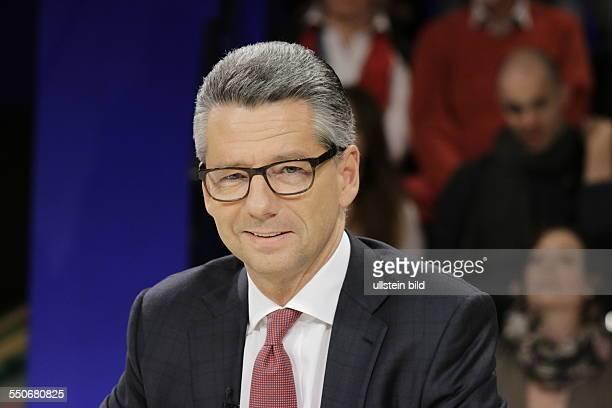 Berlin ZDF PolitTalk MaybritIllner Thema Schwarzroter Eintopf wer muss die Suppe auslöffeln Foto Ulrich Grillo der IndustriePräsident