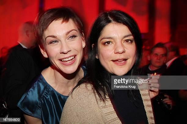 Christiane Paul Und Jasmin Tabatabai Auf Dem Medienboard Empfang In Berlin